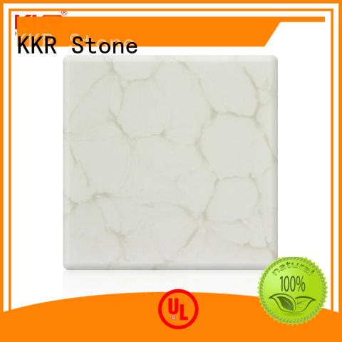 high strength solid surface material with good price for early education KKR Stone