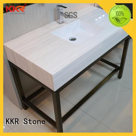 countertop bathroom vanity solid for worktops KKR Stone
