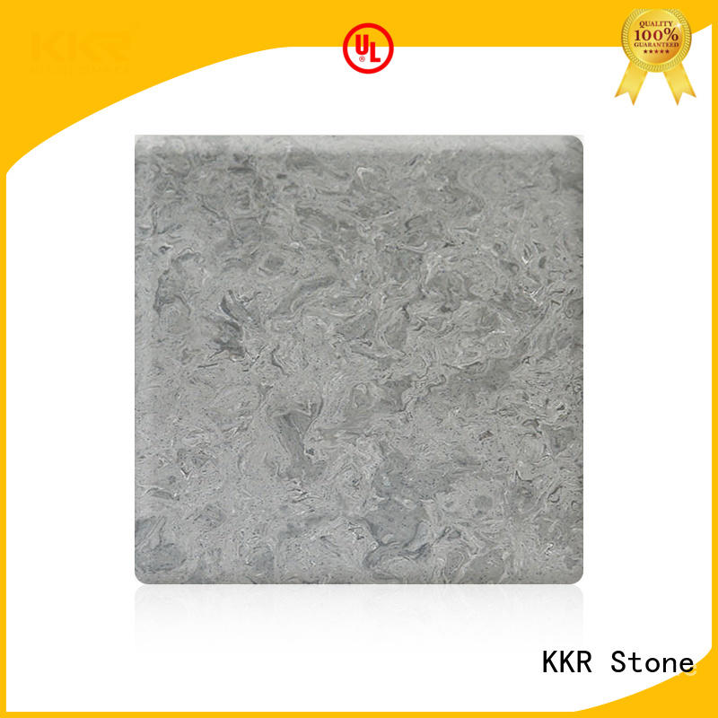 KKR Stone easy to clean solid surface certifications for early education