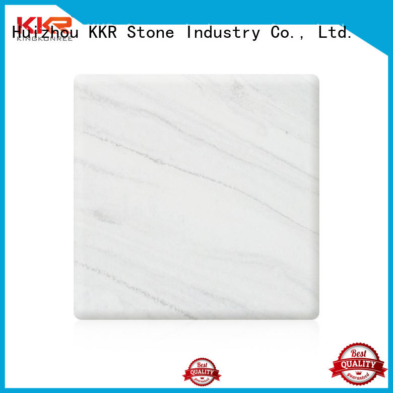 toxic free veining pattern solid surface sheet effectively for entertainment