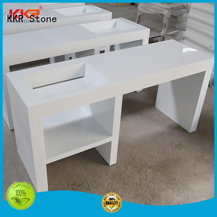 KKR Stone good Quality bathroom vanity tops supplier for entertainment