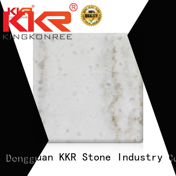 KKR Stone stone corian solid surface sheet in good performance for home