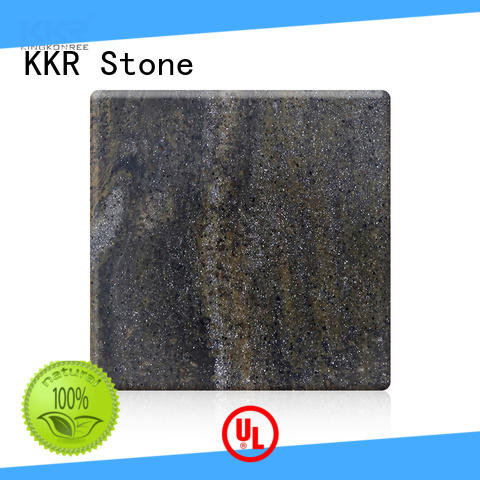 KKR Stone marble solid surface slab equipment for garden table