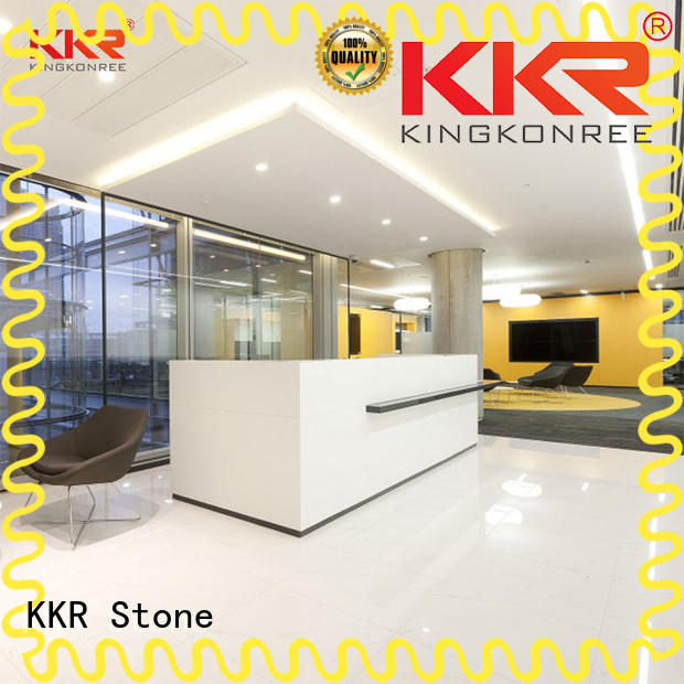 custom-made reception desk countertop fashion certifications for early education