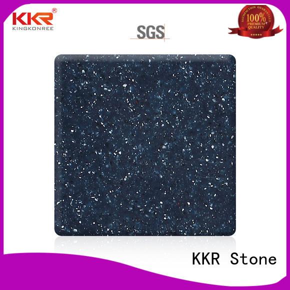 white modified acrylic solid surface superior stain for self-taught KKR Stone