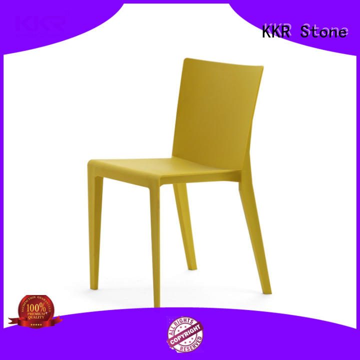 KKR Stone easily repairable plastic chairs wholesale for kitchen