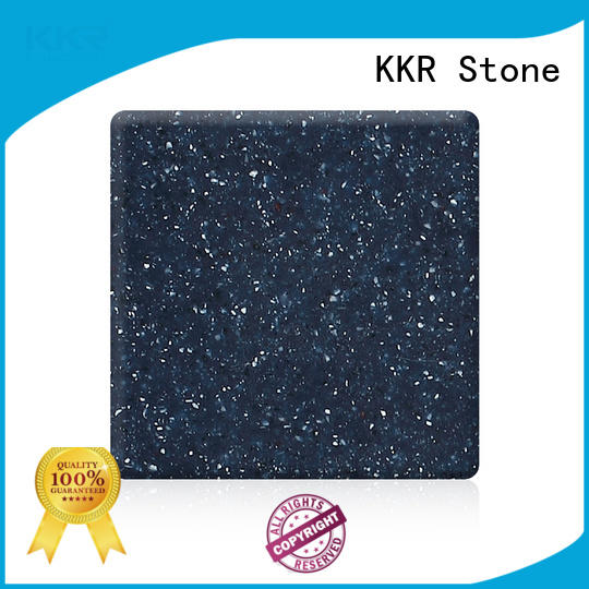 KKR Stone new-arrival modified acrylic solid surface superior bacteria for table tops