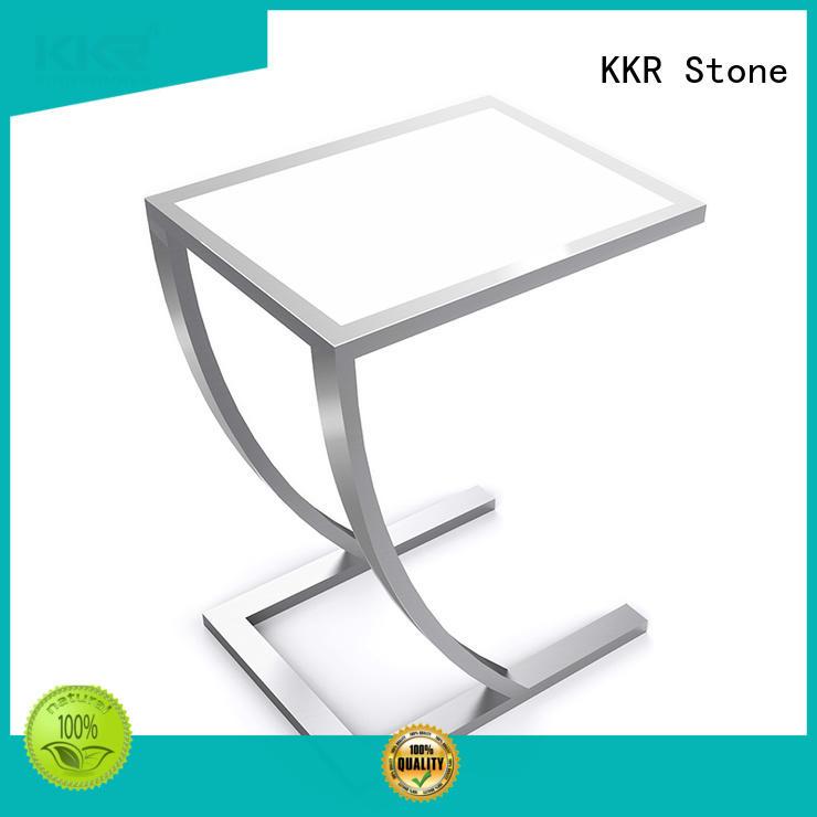 KKR Stone marble dining table set