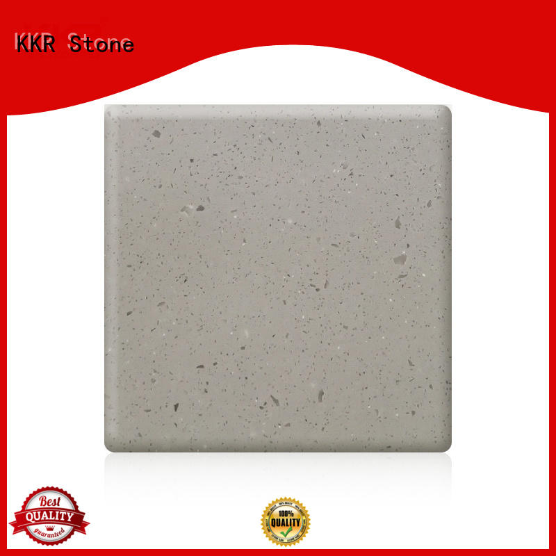 KKR Stone artificial Stone acrylic solid surface sheet for early education