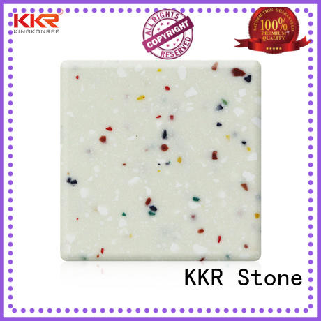 No bubbles modified acrylic solid surface white superior chemical resistance for building