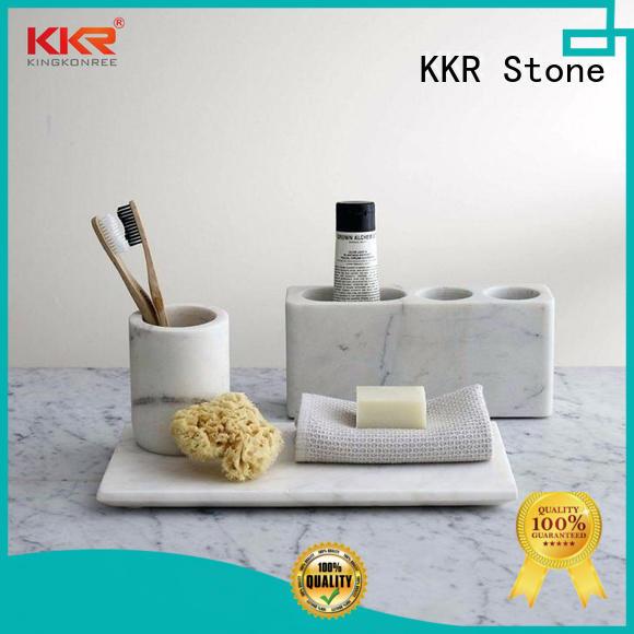 KKR Stone custom-made bathroom tray for toiletries for home