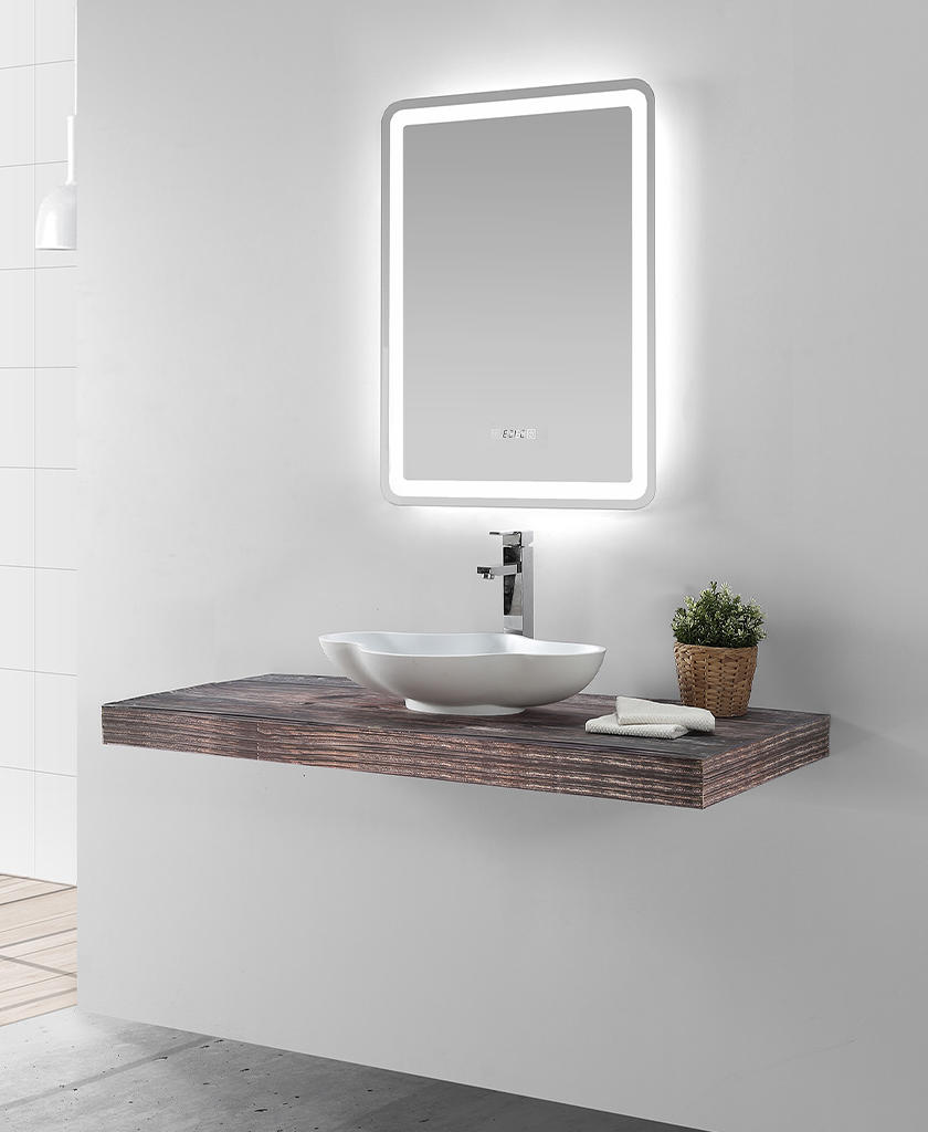 Modern Bathroom Vanity With Sink Bulk Production For Table Tops Kkr Stone