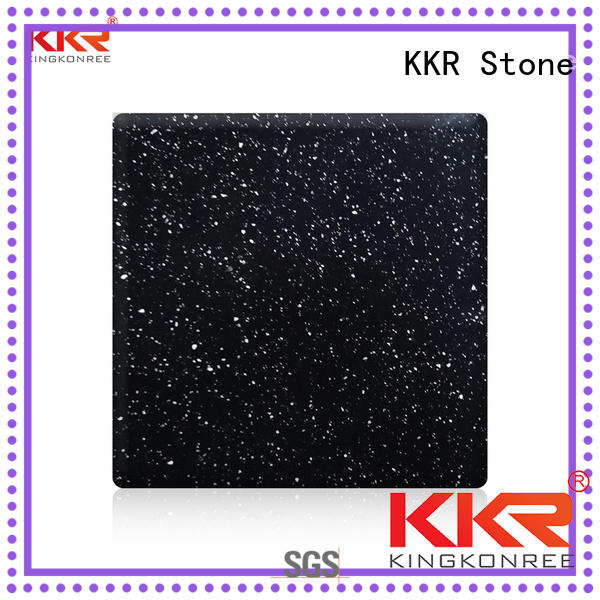 KKR Stone Warm touch solid surface acrylics superior stain for bar table