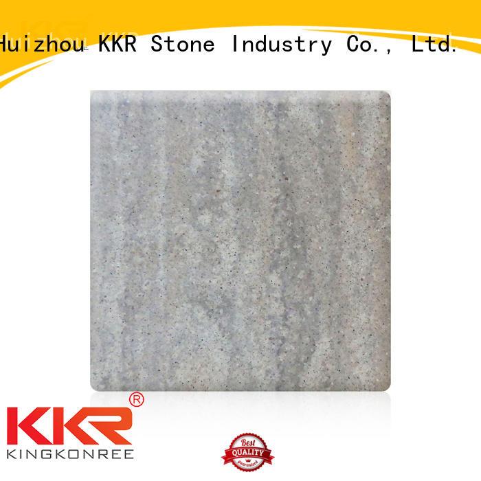 KKR Stone decorative solid surface panels wholesale for entertainment