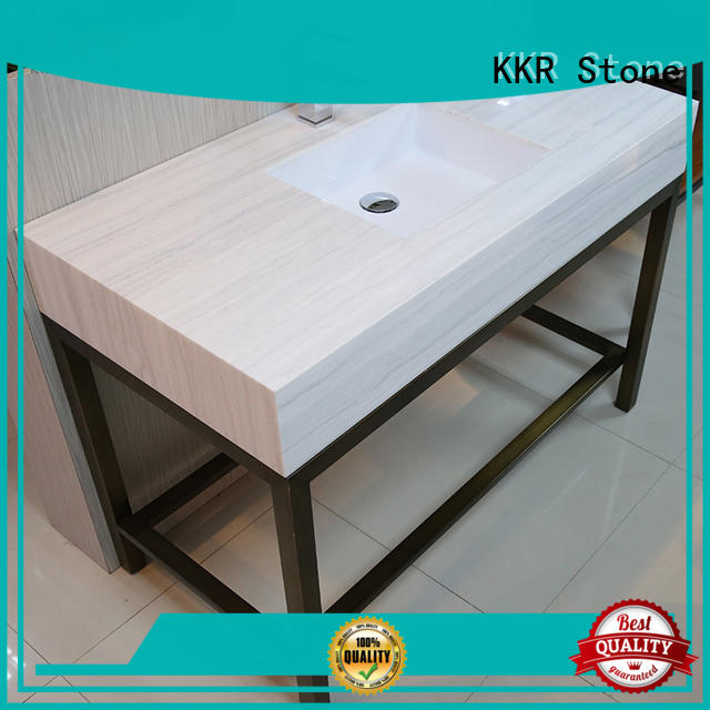 KKR Stone pattern bathroom vanity for worktops