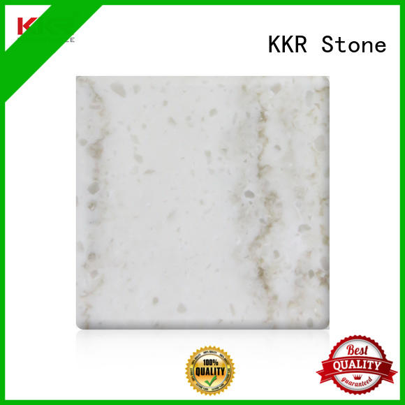 KKR Stone high strength solid surface slab solid for school building
