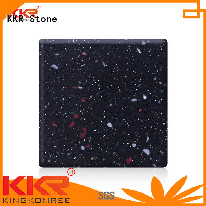 KKR Stone soild modified acrylic solid surface superior stain for building