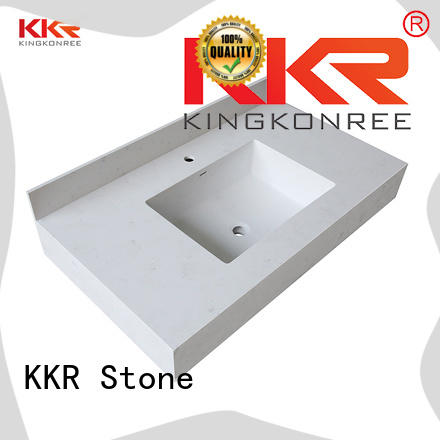 KKR Stone good Quality acrylic countertops single for school building