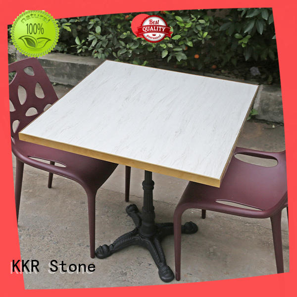 acrylic solid surface table tops marble KKR Stone
