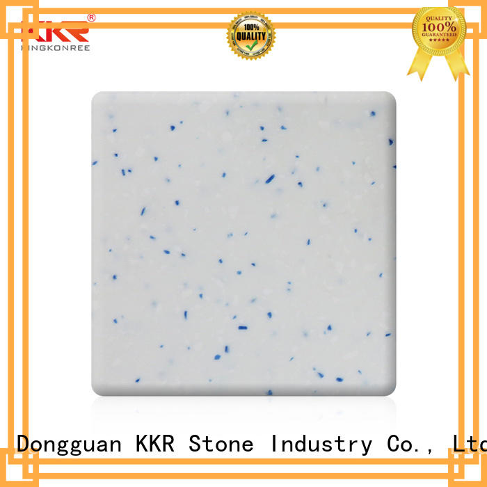 KKR Stone easy to clean solid surface factory superior bacteria for bar table