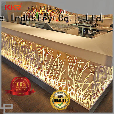 KKR Stone surface acrylic solid surface table tops
