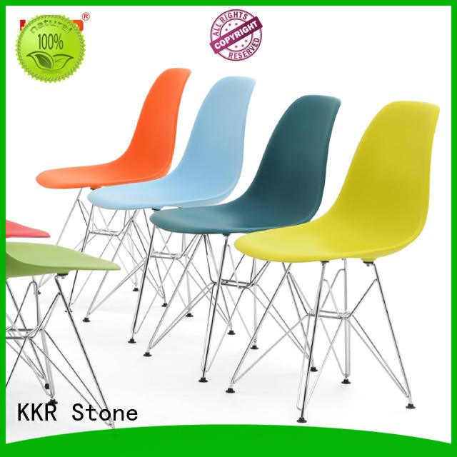 KKR Stone hot-sale buy plastic chairs supplier for kitchen