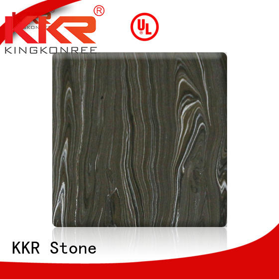 KKR Stone pollution free solid surface panels in good performance for building