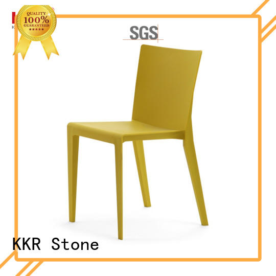 KKR Stone classic plastic outdoor chairs supplier