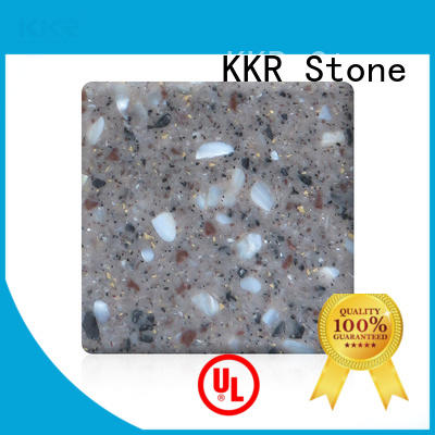 KKR Stone artificial solid surface acrylics superior chemical resistance for self-taught