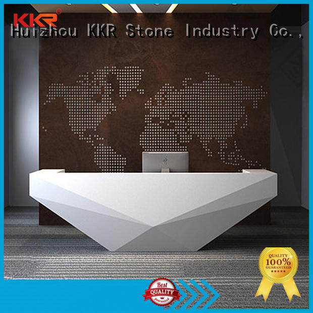 KKR Stone custom-made acrylic solid surface worktops free design for kitchen tops