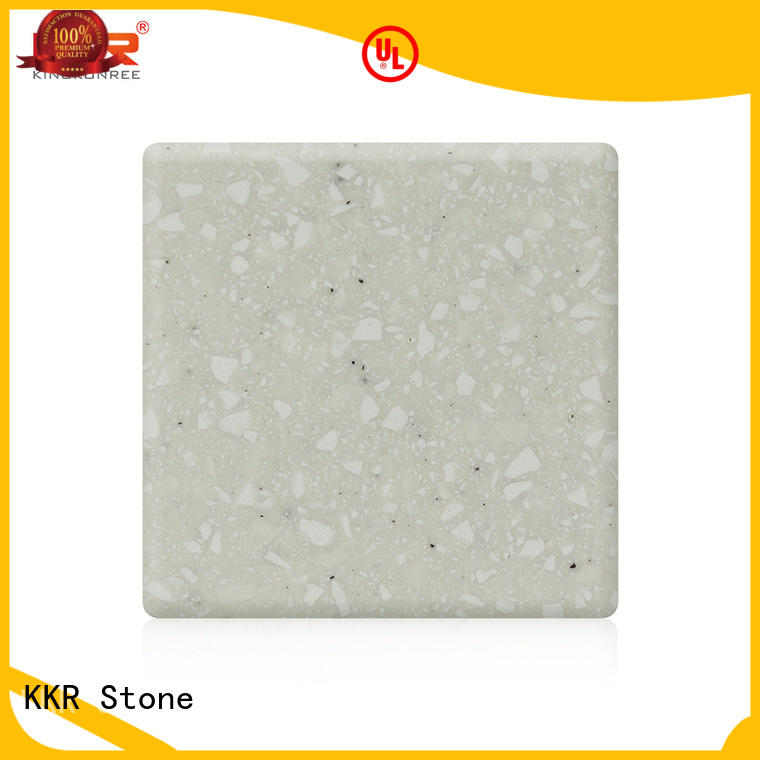 KKR Stone artificial solid surface factory superior bacteria for bar table