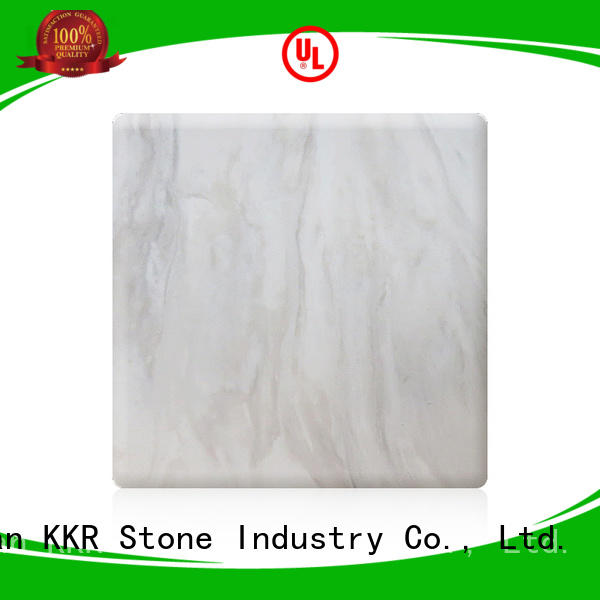 KKR Stone pollution free marble solid surface wholesale for garden table
