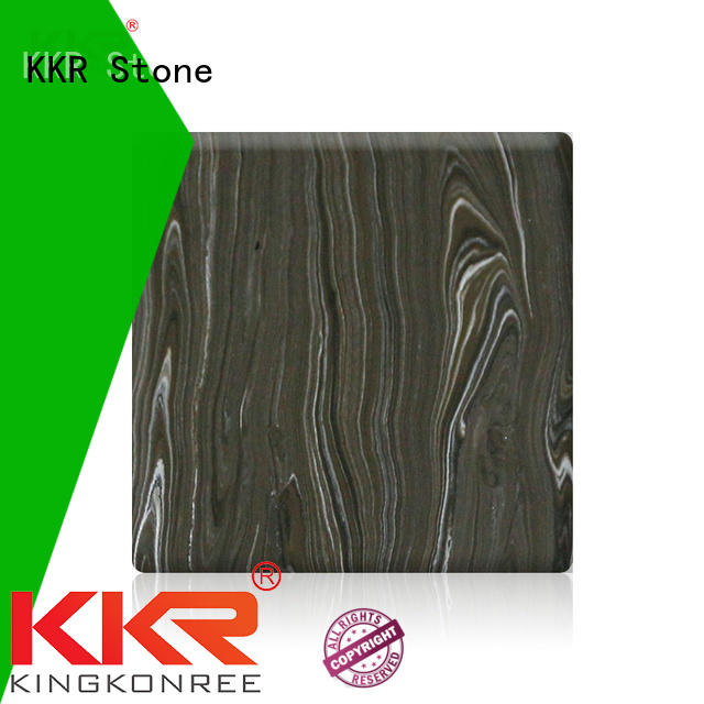 KKR Stone flame-retardant corian solid surface sheet surface furniture set