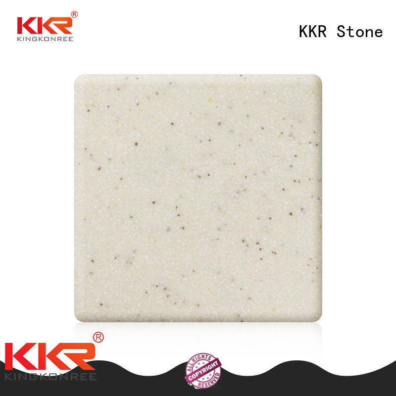KKR Stone No bubbles modified acrylic solid surface superior bacteria for building