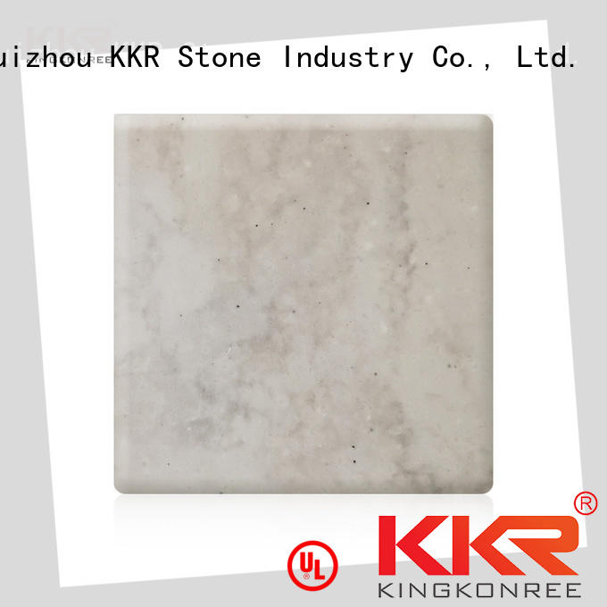 KKR Stone artificial solid surface widely-use for home