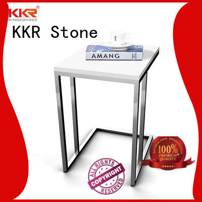 surface wall mounted bar countertop solid KKR Stone