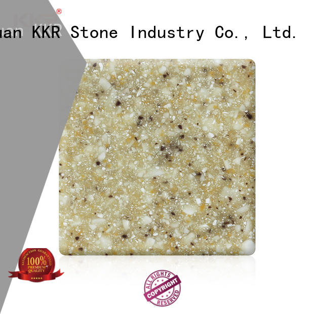 KKR Stone hot-sale solid surface factory sheets for building