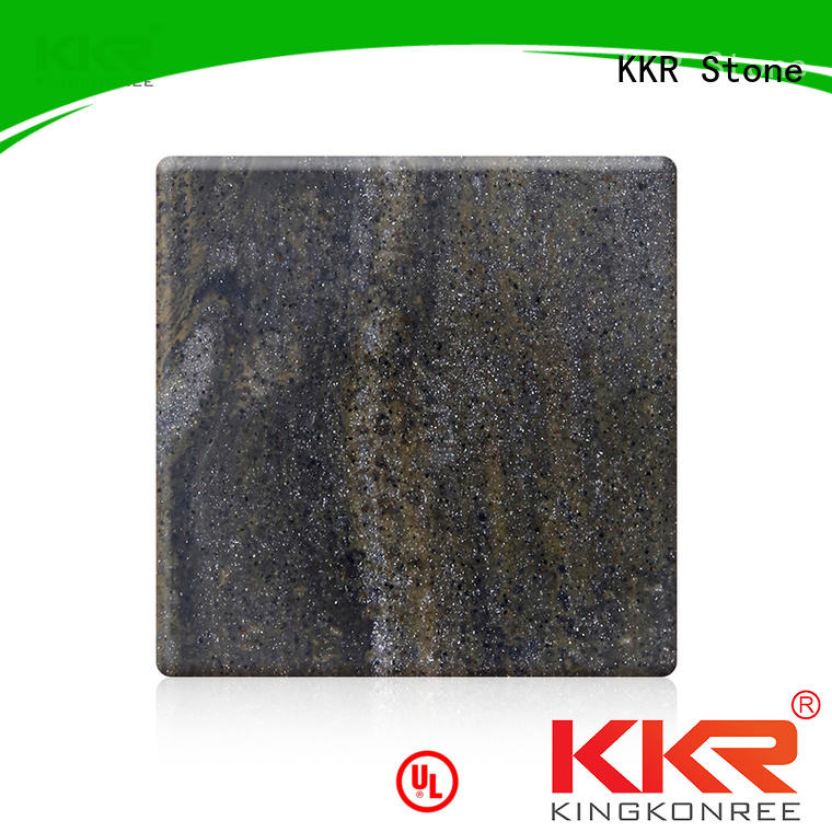 KKR Stone high-quality solid surface widely-use for school building