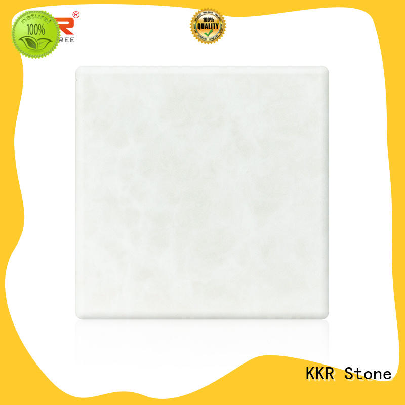 quality translucent solid surface material factory price for garden table