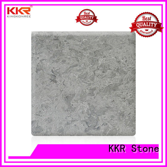 flame-retardant solid surface panels marble wholesale for bar table