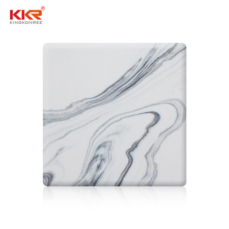 solid surface acrylic arycli for garden table KKR Stone