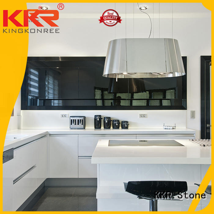 KKR Stone solid solid kitchen countertops for wholesale for building