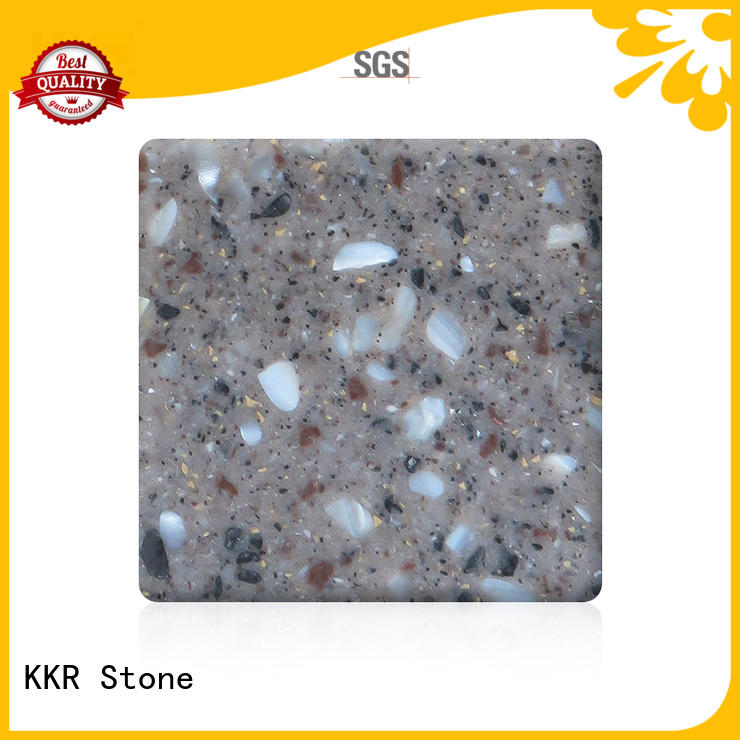 hot-sale modified solid surface kkrm1645 superior chemical resistance for worktops