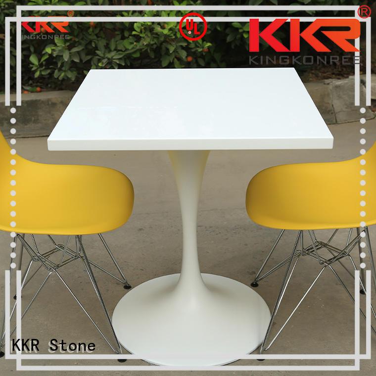 artificial restaurant table KKR Stone