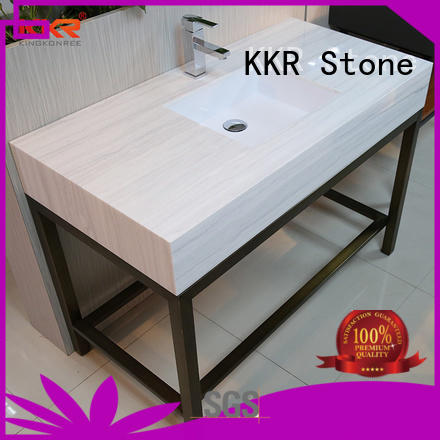 bathroom vanity tops acrylic for kitchen tops KKR Stone