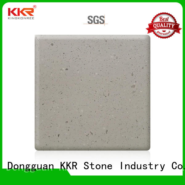 KKR Stone awesome acrylic solid surface sheet 20mm factory for entertainment