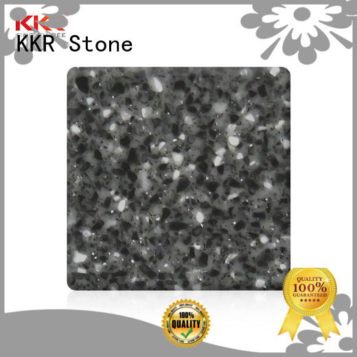 KKR Stone high tenacity solid surface acrylics superior chemical resistance for bar table