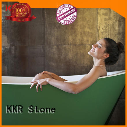 KKR Stone free standing bath tubs supply for home