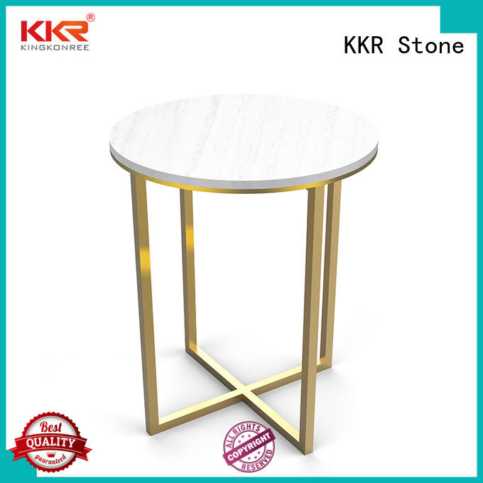 KKR Stone solid table set