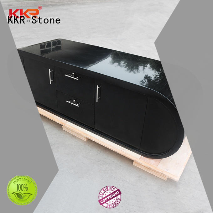 KKR Stone quality reception desk design vendor for building